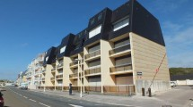 Fort-Mahon 30m from the beach apartment with balcony and parking