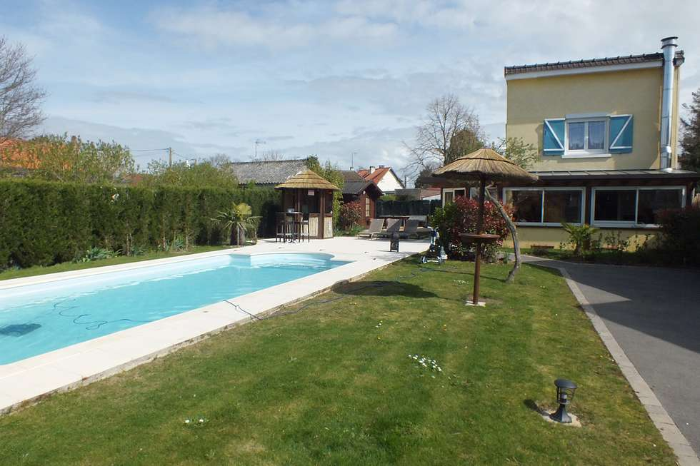 Fort-Mahon-plage, 3 bedrooms house with swimming pool and veranda