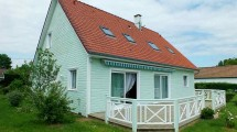 Quend-Plage, large wood framed house, 4 bedrooms