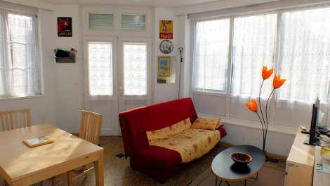 Fort-Mahon-Plage downtown apartment ground floor