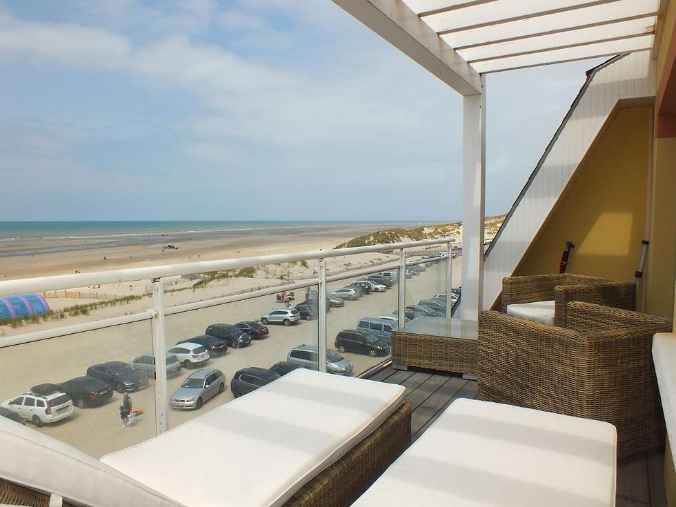 Fort-Mahon-Plage facing beach apartment T3
