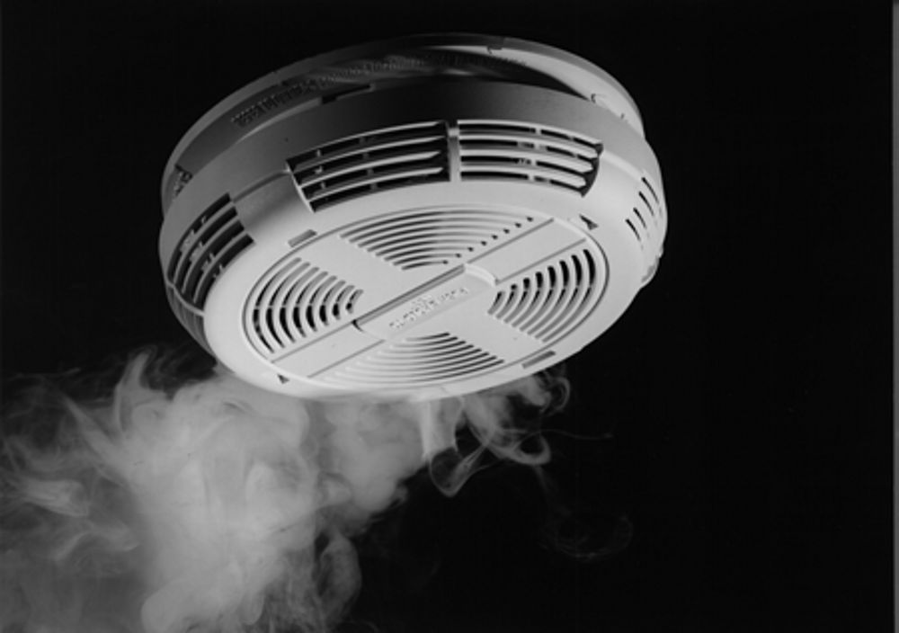 Secure your home with a smoke detector